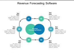 Revenue Forecasting Software Ppt Powerpoint Presentation Professional Visual Aids Cpb