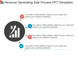 Revenue Generating Sale Process Ppt Templates