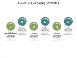 Revenue Generating Websites Ppt Powerpoint Presentation Introduction Cpb