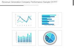 Revenue Generation Company Performance Sample Of Ppt