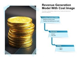 Revenue Generation Model With Cost Image