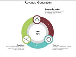 Revenue Generation Ppt Powerpoint Presentation File Guide Cpb
