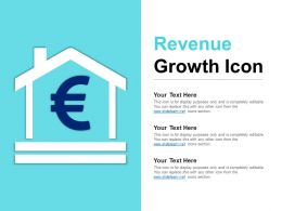 Revenue Growth Icon Ppt Infographic Template