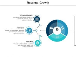Revenue Growth Ppt Powerpoint Presentation Infographics Templates Cpb