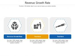 Revenue Growth Rate Ppt Powerpoint Presentation Icon Layout Cpb