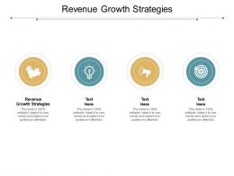 Revenue Growth Strategies Ppt Powerpoint Presentation Pictures Demonstration Cpb