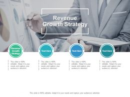 Revenue Growth Strategy Ppt Powerpoint Presentation Show Themes Cpb