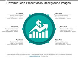 Revenue Icon Presentation Background Images