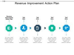Revenue Improvement Action Plan Ppt Powerpoint Presentation File Icon Cpb