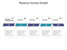 Revenue Income Growth Ppt Powerpoint Presentation Summary Infographic Template Cpb