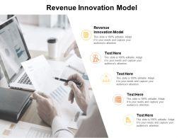 Revenue Innovation Model Ppt Powerpoint Presentation Example Cpb