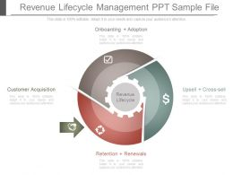 Revenue Lifecycle Management Ppt Sample File