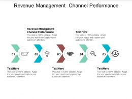 Revenue Management Channel Performance Ppt Powerpoint Presentation Model Guidelines Cpb