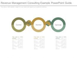 Revenue Management Consulting Example Powerpoint Guide