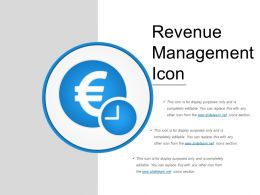 Revenue Management Icon Presentation Backgrounds