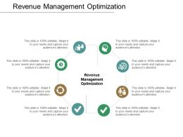 Revenue Management Optimization Ppt Powerpoint Presentation Layouts Portfolio Cpb