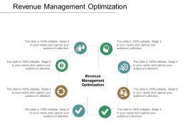 Revenue Management Optimization Ppt Powerpoint Presentation Layouts Portfolio Cpb