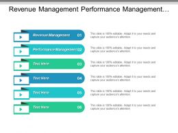 Revenue Management Performance Management Financial Services Environmental Business Cpb