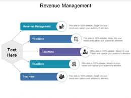 Revenue Management Ppt Powerpoint Presentation Gallery Show Cpb