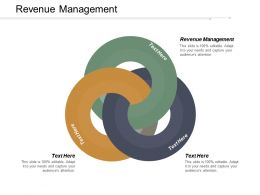 Revenue Management Ppt Powerpoint Presentation Infographics Introduction Cpb