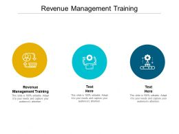 Revenue Management Training Ppt Powerpoint Presentation Visual Aids Outline Cpb