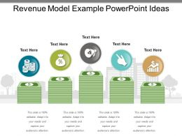 Revenue Model Example Powerpoint Ideas