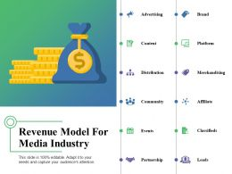 Revenue Model For Media Industry Ppt Examples