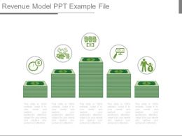 Revenue Model Ppt Example File