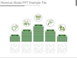 Revenue Model Ppt Example File