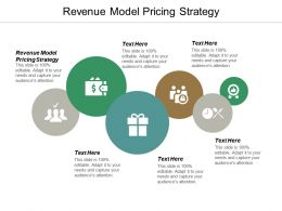 Revenue Model Pricing Strategy Ppt Powerpoint Presentation Professional Guide Cpb