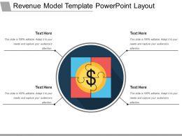 Revenue Model Template Powerpoint Layout