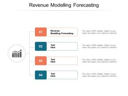 Revenue Modelling Forecasting Ppt Powerpoint Presentation Inspiration Show Cpb
