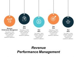 Revenue Performance Management Ppt Powerpoint Presentation Model Ideas Cpb