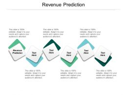 Revenue Prediction Ppt Powerpoint Presentation Ideas Designs Download Cpb