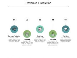 Revenue Prediction Ppt Powerpoint Presentation Inspiration Show Cpb
