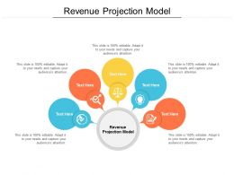 Revenue Projection Model Ppt Powerpoint Presentation File Brochure Cpb