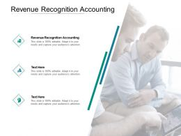 Revenue Recognition Accounting Ppt Powerpoint Presentation Icon Mockup Cpb