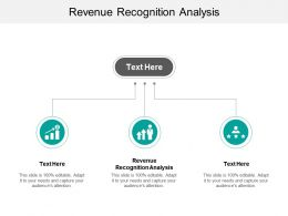 Revenue Recognition Analysis Ppt Powerpoint Presentation Show Deck Cpb
