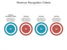 Revenue Recognition Criteria Ppt Powerpoint Presentation Layouts Graphics Tutorials Cpb