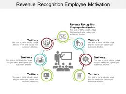 Revenue Recognition Employee Motivation Ppt Powerpoint Presentation Model Outline Cpb