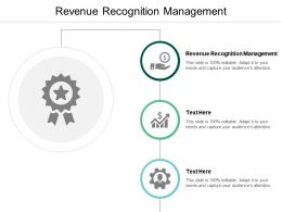 Revenue Recognition Management Ppt Powerpoint Presentation Summary Layout Cpb