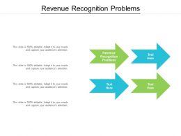 Revenue Recognition Problems Ppt Powerpoint Presentation Pictures Files Cpb