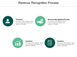 Revenue Recognition Process Ppt Powerpoint Presentation Summary Microsoft Cpb