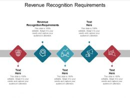 Revenue Recognition Requirements Ppt Powerpoint Presentation Ideas Slides Cpb