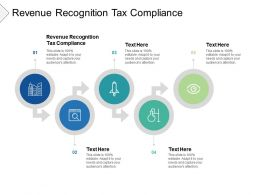 Revenue Recognition Tax Compliance Ppt Powerpoint Presentation Styles Graphics Example Cpb