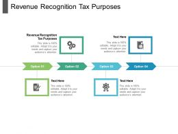 Revenue Recognition Tax Purposes Ppt Powerpoint Presentation Diagram Lists Cpb