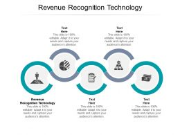 Revenue Recognition Technology Ppt Powerpoint Presentation Infographics Pictures