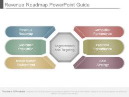 Revenue Roadmap Powerpoint Guide