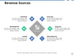 Revenue Sources Advertising B272 Ppt Powerpoint Presentation Ideas Good