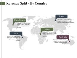 Revenue Split By Country Ppt Inspiration